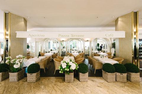 غراند إيليسي هامبورغ - Restaurant Piazza Romana at GRAND ELYSEE HAMBURG
