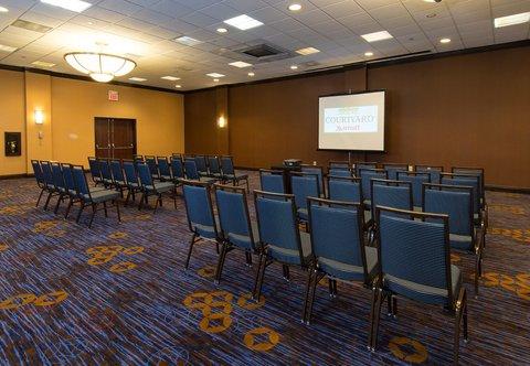 Courtyard Columbia Downtown at USC - Lexington Meeting Room   Theater Setup