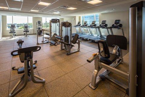 Hilton Dallas Plano Granite Park - Fitness Center