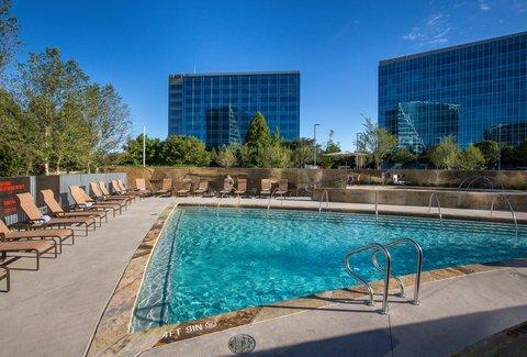 Hilton Dallas Plano Granite Park - Outdoor Swimming Pool