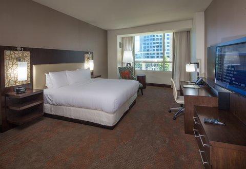 Hilton Dallas Plano Granite Park - King Deluxe Guest Room