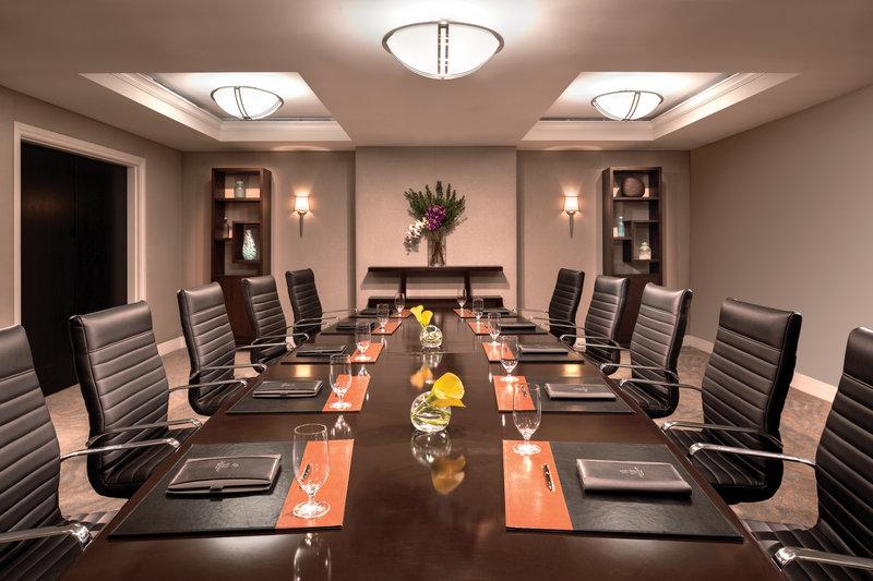 The Ritz-Carlton South Beach 会議室