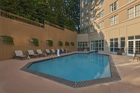 Sheraton Suites Galleria-Atlanta - Indoor Outdoor Pool