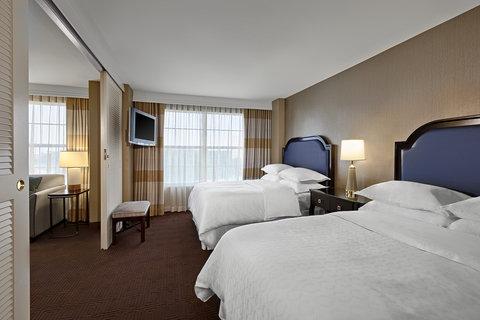 Sheraton Suites Galleria-Atlanta - Suite Bedroom Two Double Beds