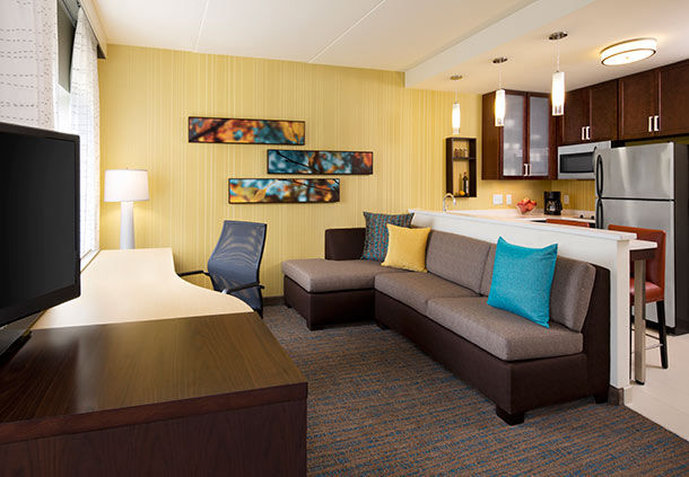 Hotel Residence Inn Miami Coconut Grove View of room