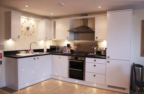 Beneficial House - House of Fisher - Kitchen