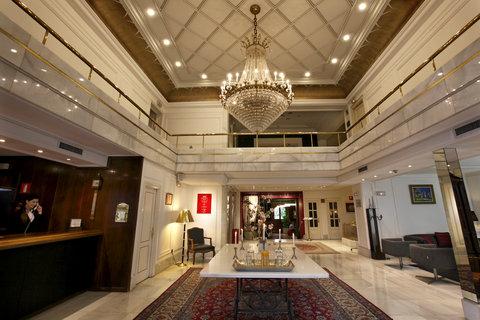 Ercilla Lopez De Haro Hotel - Lobby at Hotel Lopez de Haro