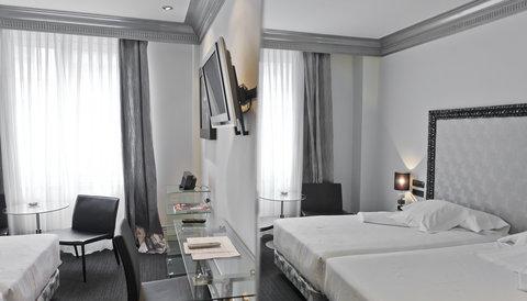 Ercilla Lopez De Haro Hotel - Guest Room at Hotel Lopez de Haro