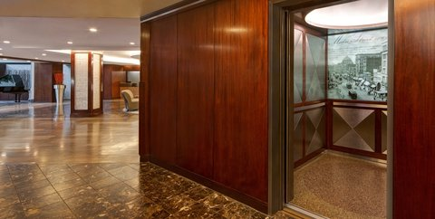 Hyatt Regency Buffalo - Lobby Elevators