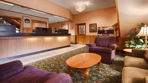 BEST WESTERN PLUS Longbranch Hotel & Convention Center - Front Desk
