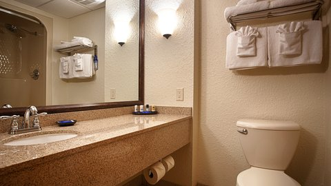 BEST WESTERN PLUS Longbranch Hotel & Convention Center - Guest Bathroom