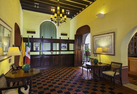Hacienda Puerta Campeche, a Luxury Collection Hotel, Campeche - Front Desk