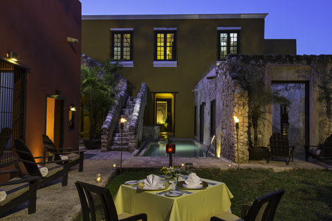 Hacienda Puerta Campeche, a Luxury Collection Hotel, Campeche - Romantic Dinner Setup