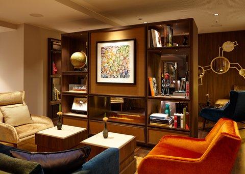 AMERON Hotel Speicherstadt Ham - Reception Area Fireplace