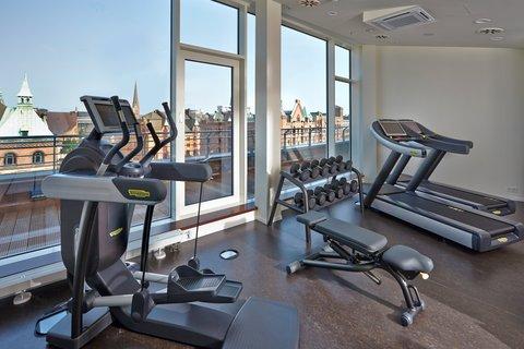 AMERON Hotel Speicherstadt Ham - Fitness Room at AMERON Hotel Speicherstadt Hamburg