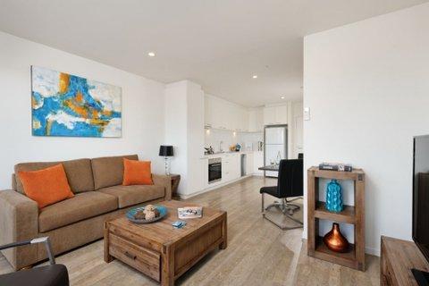 Apartments @ Ikon Glen Waverley - Living