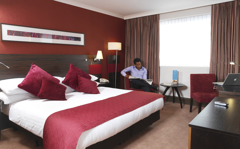 Crowne Plaza Hotel Glasgow Kameraanzicht