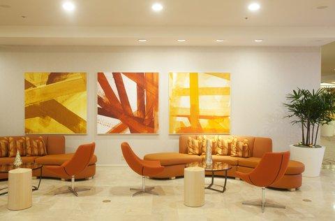 Hotel Irvine Jamboree Center - Hotel Lobby
