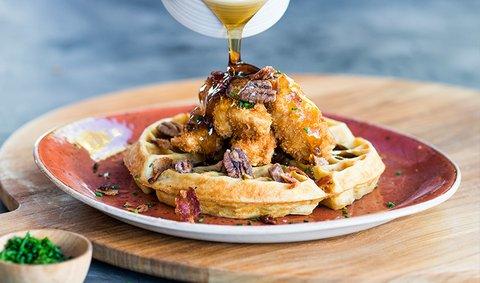 Hotel Irvine Jamboree Center - Chicken And Waffles