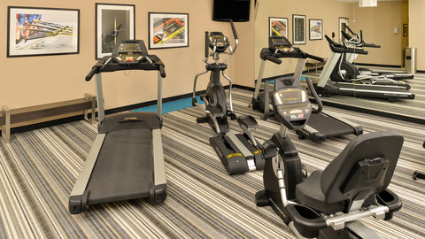 Candlewood Suites HOUMA - Large Fitness Center