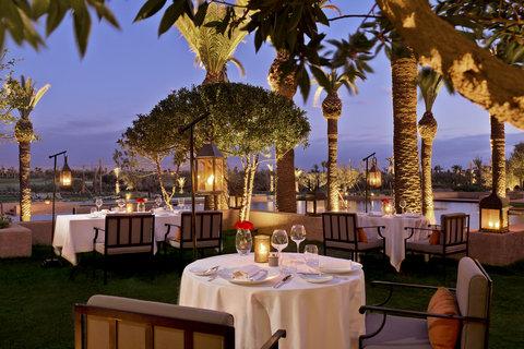 Prince Villa - Royal Palm Marrakech - Le Caravane Restaurant
