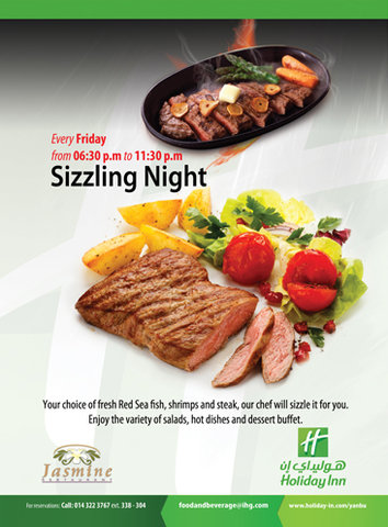Holiday Inn YANBU - Sizziling Night