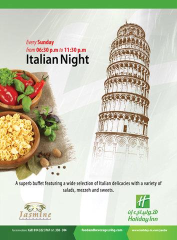 Holiday Inn YANBU - Italian Night