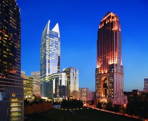 Four Seasons Atlanta - Midtown Atlanta Skyline with Hotel