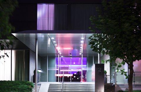 Innside Frankfurt Niederrad - The entrance