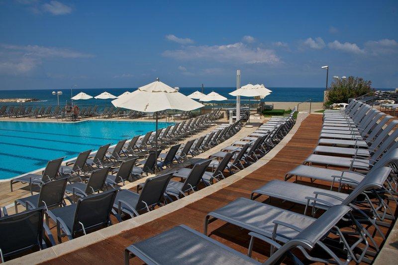 Hilton Tel Aviv Uima-allasnäkymä