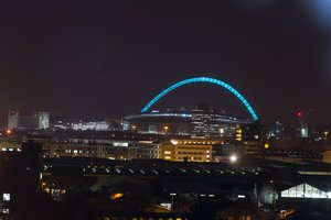 Wembely Stadium is just 3.2 miles from the Hotel