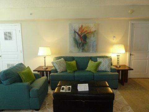 1401 Joyce on Pentagon Row by Global - Furnished Living Room