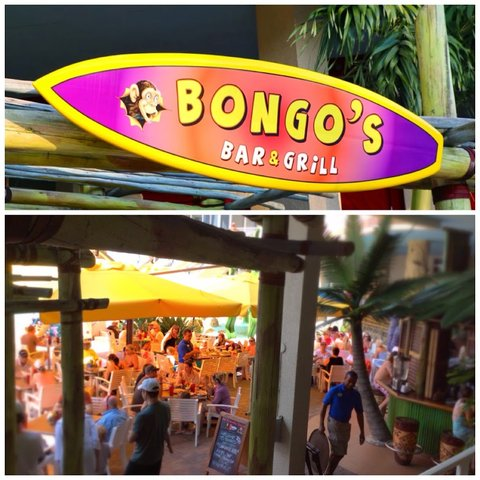 Pink Shell Beach Resort - Bongo s Beach Side Bar and Grill