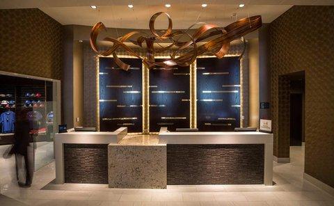 Hilton Dallas Plano Granite Park - Front Desk