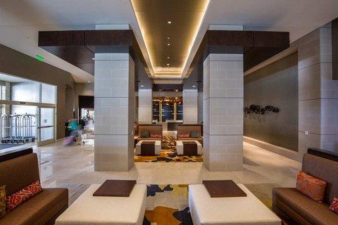Hilton Dallas Plano Granite Park - Lobby  Seating