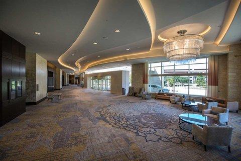 Hilton Dallas Plano Granite Park - Pre-function Area  Seating