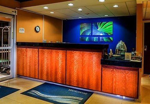 Fairfield Inn By Marriott Denver Westminster - Front Desk