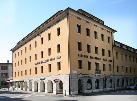 Hotel Delle Alpi - Facciata esterna