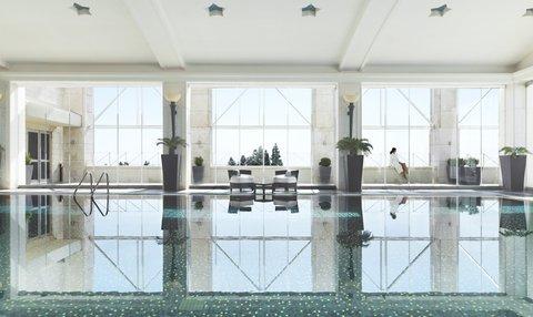 فندق فور سيزن - The Spa  indoor pool