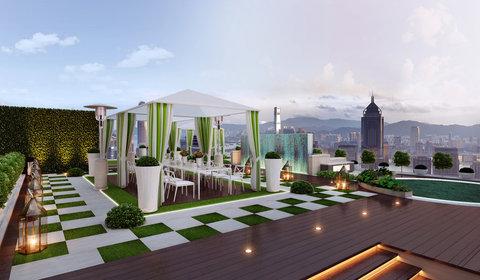 香港柏宁铂尔曼酒店 - Roof Top Garden