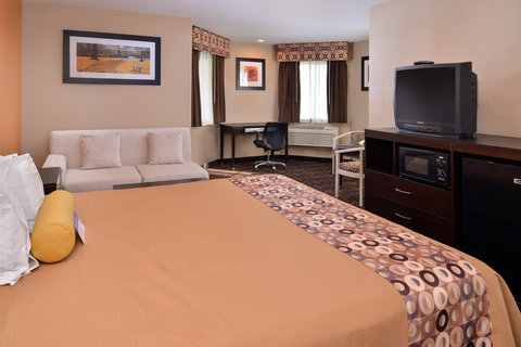 Americas Best Value Inn and Suites Madera - One King Bed Guest Room