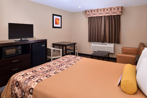 Americas Best Value Inn and Suites Madera - One Queen Guest Bed Room