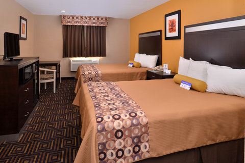 Americas Best Value Inn and Suites Madera - Two Queen Bed Guest Room