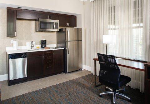 Residence Inn Atlanta Midtown/Georgia Tech - Studio Suite Kitchen