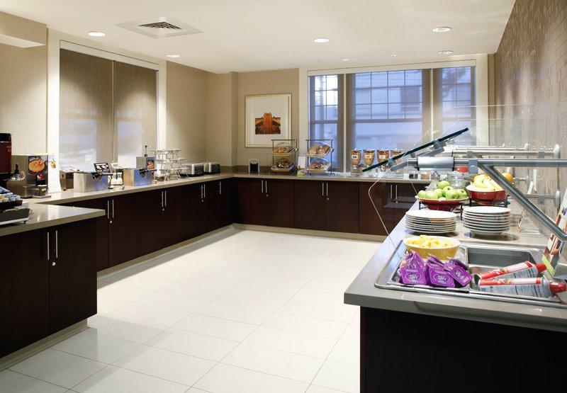 Residence Inn Atlanta Midtown/Historic Ресторанно-буфетное обслуживание