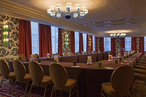 Monaco Baltimore A Kimpton Hotel - UShape Setup Paris Ballroom