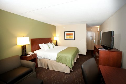 Holiday Inn Fairmont Hotel - Executive King Room has a King bed  sofa sleeper and work desk