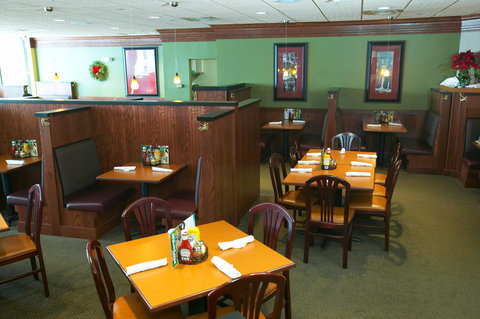 Holiday Inn Fairmont Hotel - Our GreenMill Restaurant services all three meals everyday