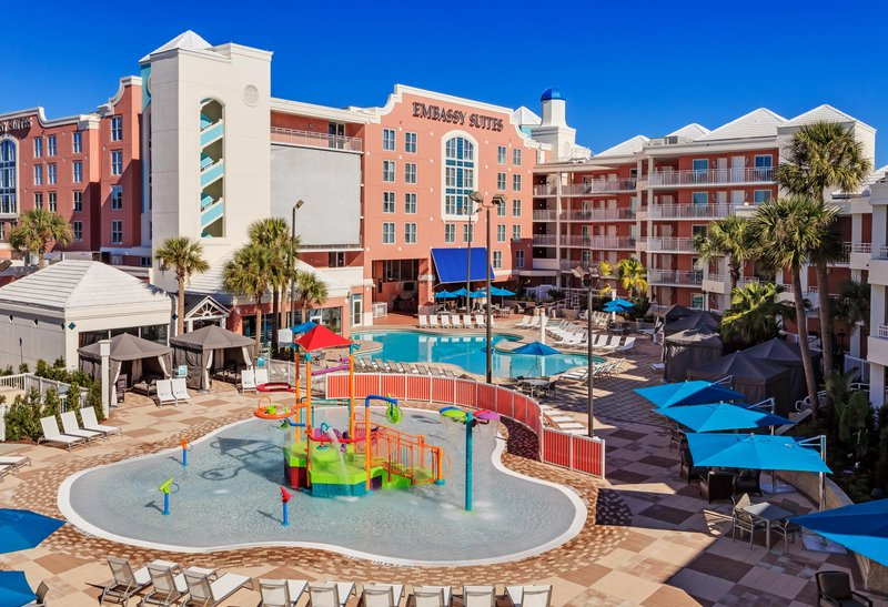 Embassy Suites Orlando - Lake Buena Vista Billede af pool