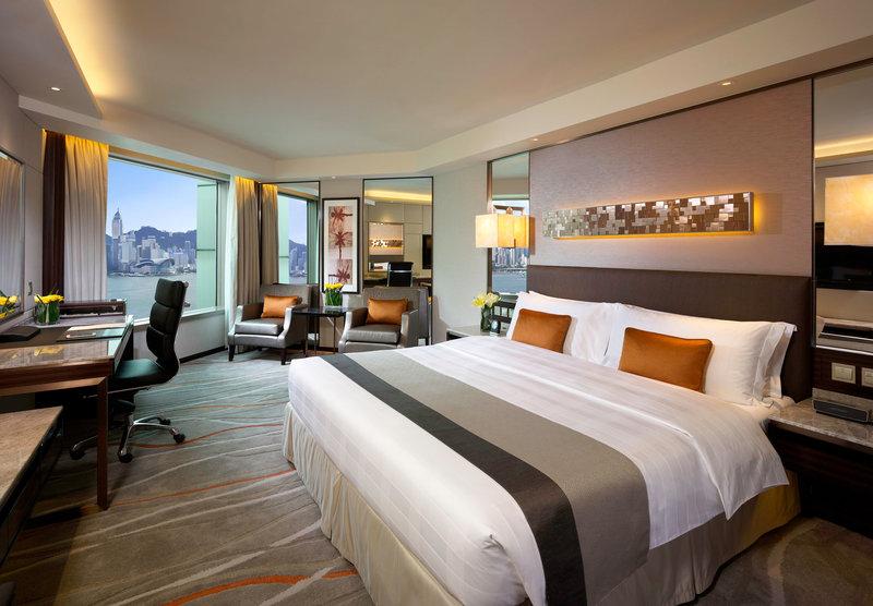 InterContinental Grand Stanford Hong Kong Vista do quarto
